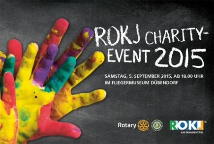 Flyer ROKJ Charity-Event 2015